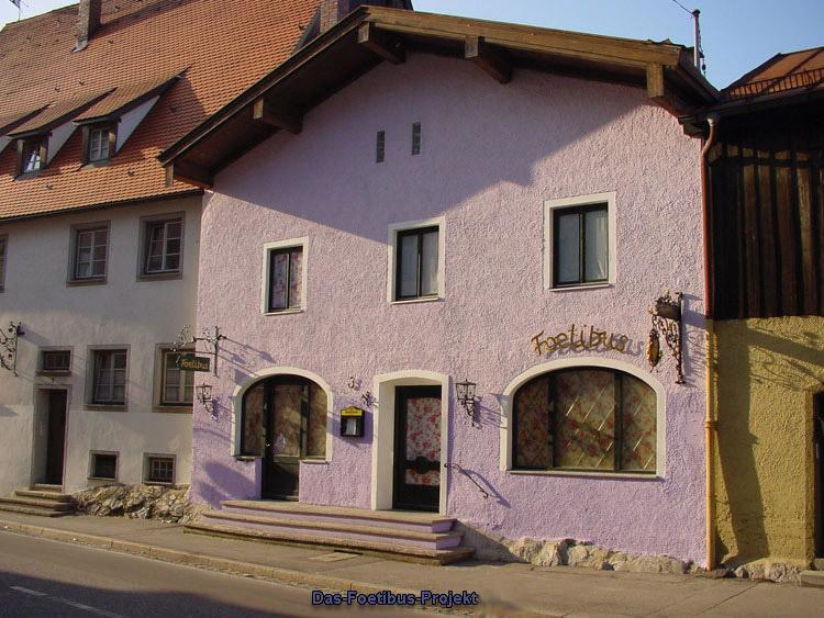 Das FOETIBUS - illegales Bordell in Füssen (Bayern)   Foto: Gloeckel.info